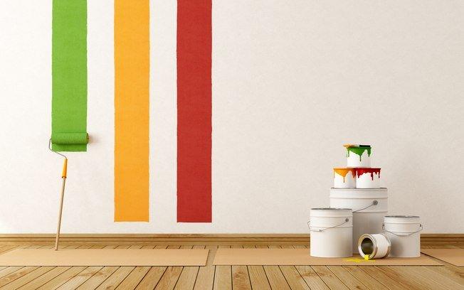 Aprenda a pintar as paredes da sua casa