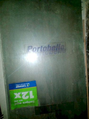 Vidros para porta de banheiro
